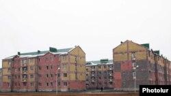 Նորակառույց շենքեր Գյումրիում, արխիվային լուսանկար