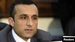 د افغانستان د ملي امنیت پخوانی رییس امر الله صالح