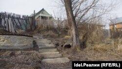 Берег Волги со стороны участка Альменовой