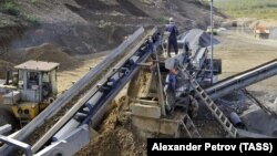Золотодобывающий завод, иллюстративное фото