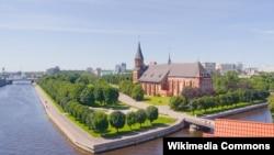 Так выглядае цэнтар Калінінграда сёньня. Ён жа Кёнігсбэрг і Каралявец