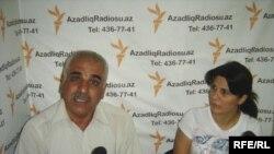 Emin Fətullayev və Ayəndə Mürsəliyeva AzadlıqRadiosunda – 22 avqust 2009