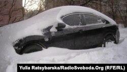 Наслідки снігопаду у Дніпропетровську, 30 грудня 2014 року