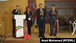 جانب من أعمال مؤتمر الرعاية الصحية في العراق المنعقد في السليمانية