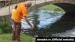 У Сімферополі проводять процедури з дезінсекції після нашестя комарів, липень 2016 року