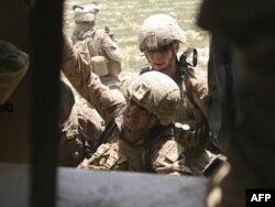 Američki marinci u Avganistanu - ilustracija