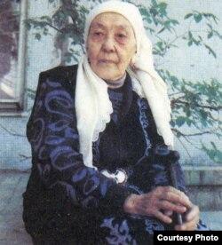 Макен Турагулкызы, внучка Абая.