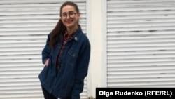 Задля безпеки Ольга Руденко самостійно встановила на своєму гіроскутері світловідбивачі