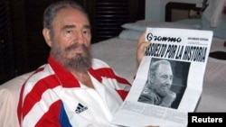 Фідэль Кастра, фота 2006 году