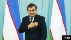 Избранный президент Узбекистана Шавкат Мирзияев.