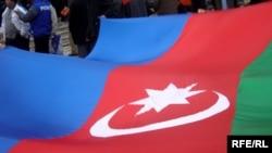 Azerbaijan – An Azeri flag x