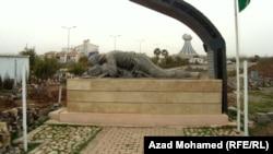 تمثال ونصب يخلد ضحايا حلبجة في السليمانية