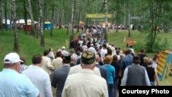 Казан халкы бәйрәмгә агыла
