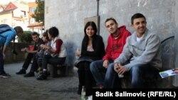 Mladi ljudi, Srebrenica, 2013.