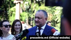 Раиси ҷумҳури Молдова Игор Додон