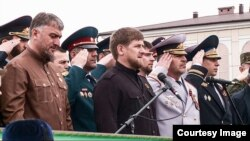 """Рамзан Кадыров в фильме """"Война без следа"""""""