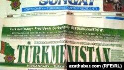 2013-nji ýylyň 25-nji ýanwarynda çykan türkmen gazetleri
