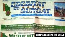 """Türkmenistanda """"gazanylýan üstünlikleri beýan etmek üçin"""" täze žurnal dörediler"""