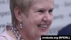 Лідзія Ярмошына, старшыня ЦВК
