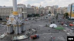 Pamje e pjesës qendrore të Kievit