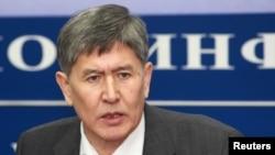 First Deputy Prime Minister Almazbek Atambaev