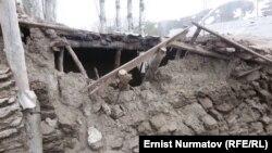 После землетрясения в Чон-Алае.