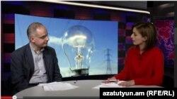 ՀԱԿ խմբակցության ղեկավար Լևոն Զուրաբյանը «Ազատություն TV»-ի տաղավարում, 26-ը մայիսի, 2015թ.