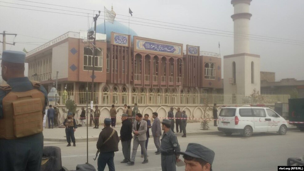 The bomber targeted the Baqir ul-Olum mosque in the western part of the city as worshippers gathered there for a religious ceremony.