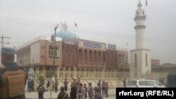 Мечеть Бакир уль-Олум в Кабуле, где прогремел взрыв. 21 ноября 2016 года.