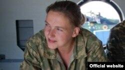 Ukraynalı təyyarəçi Nadejda Savchenko