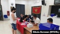 Подгорица - Парламентрани избори во Црна Гора. 30.08.2020.