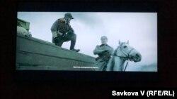 Уривок з фільму «Крути 1918» під показу у Празі, Чехія, 29 січня 2020