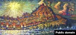 Константин Богаевский. Генуэзская крепость