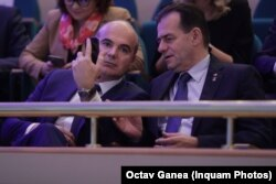 Rareș Bogdan și premierul Ludovic Orban