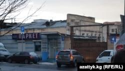 Өрт чыккан имараттын айланасы, Москва