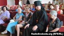 Алла Шлапак і єпископ Васильківський