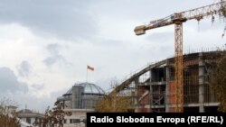 Скопьедегі құрылыстар
