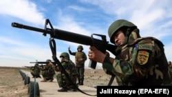 Вучэньні аўганскай арміі з удзелам вайскоўцаў-жанчын, 17 лютага 2020