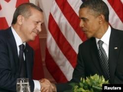 Recep Tayyip Erdogan və Barack Obama