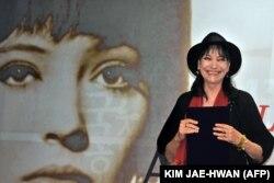 کارینا در جریان جشنواره بوسان در کره جنوبی؛ ۲۰۰۸
