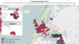 خارطة الدول الأعضاء المشاركة في التحالف الدولي لمحاربة داعش