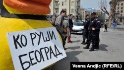 """Akcija inicijative """"Ne da(vi)mo Beograd"""""""
