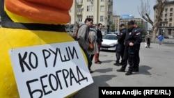 """Slučaj Savamala ne sme ostati bez sudskog epiloga: Marko Aksentijević, Inicijativa """"Ne da(vi)mo Beograd"""""""