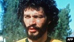 Բրազիլիա -- Հավաքականի նախկին ավագ Սոկրատեսը, հունիս 1985թ.