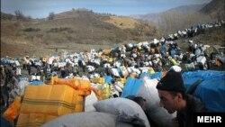 کولبران در کردستان ایران