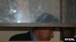 Жаксыбек Кулекеев в зале суда. Астана, 4 сентября 2008 года.