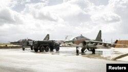 Ռուսական մարտական օդանավերը Սիրիայում, 15-ը մարտի, 2016թ.