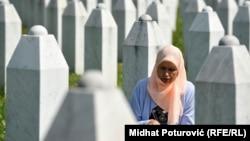 """Komemoracija žrtvama genocida u Srebrenici, memorijalni centar """"Potočari"""", 10. jul 2015. godine ilustrativna fotografija"""