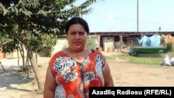 Resident of Ojakaran village of Astara region Zulfiyya Aliyeva. Azerbaijan. sept.2017