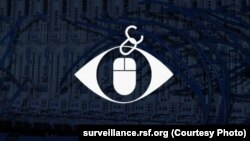 "RSF's logo for its ""Enemies of the Internet"" report"
